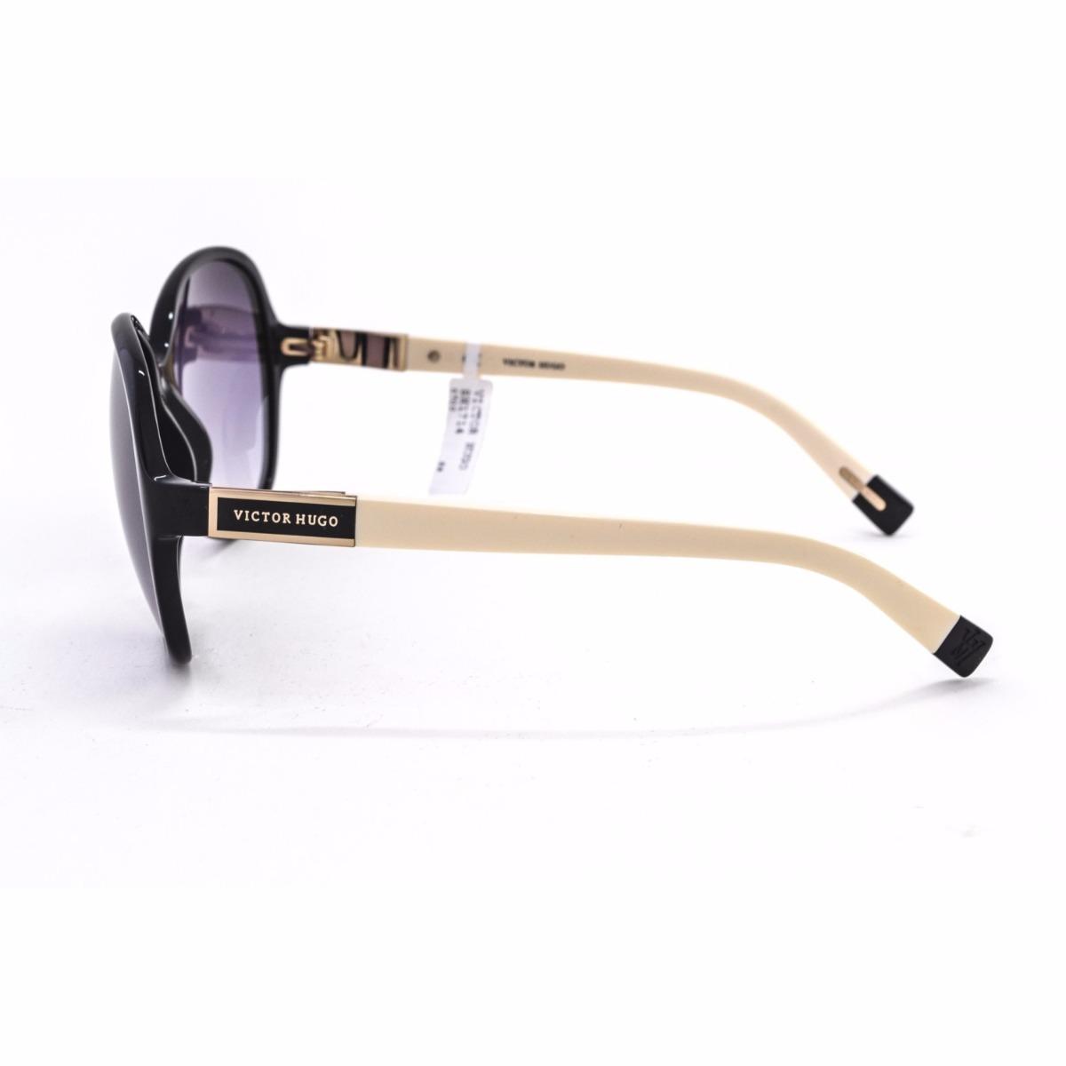 óculos de sol victor hugo sh1714 0700 acetato feminino. Carregando zoom. e449fe92fa