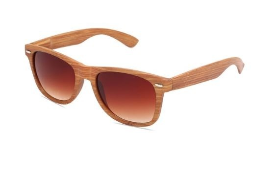 eb5c98c6f9b78 Óculos De Sol Vintage Bambu Madeira Masculino Feminino - R  39