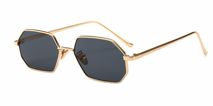 8b082453a óculos de sol vintage retro facetado pequeno uv400. Carregando zoom.