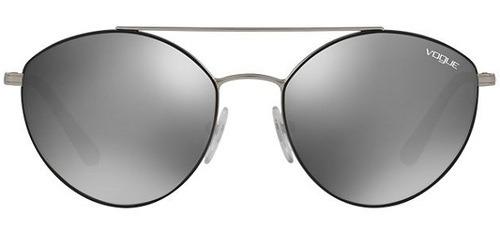 1dfa9c7a7 Oculos De Sol Vogue 4023s 3526g Espelhado Preto - R$ 358,20 em ...