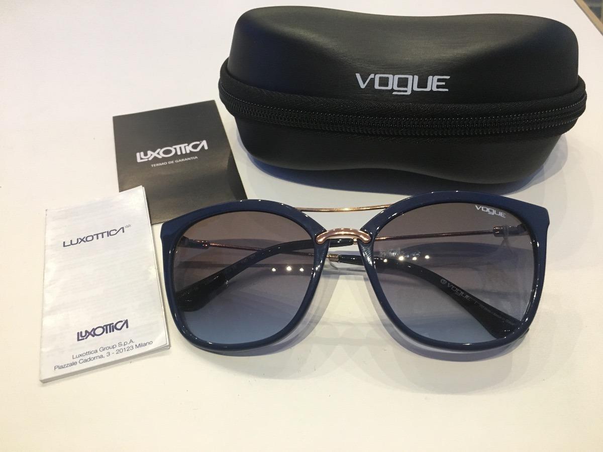 9b2604826 Óculos De Sol Vogue Vo-5157 Nova Coleção Revendedor - R$ 380,00 em ...