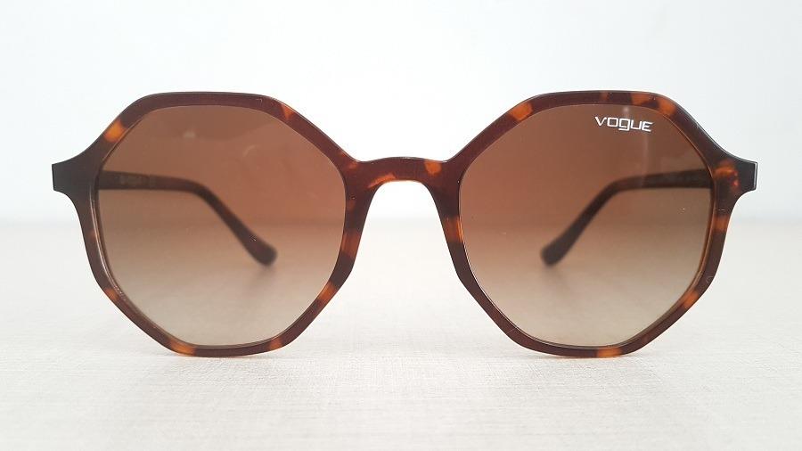 93194f78e Óculos De Sol Vogue Vo5222s 238613 Tartaruga Degradê - R$ 299,00 em ...