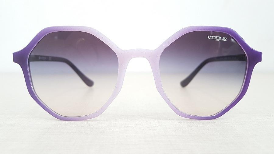 bbb9437e4 óculos de sol vogue vo5222s 264036 roxo degradê branco. Carregando zoom.