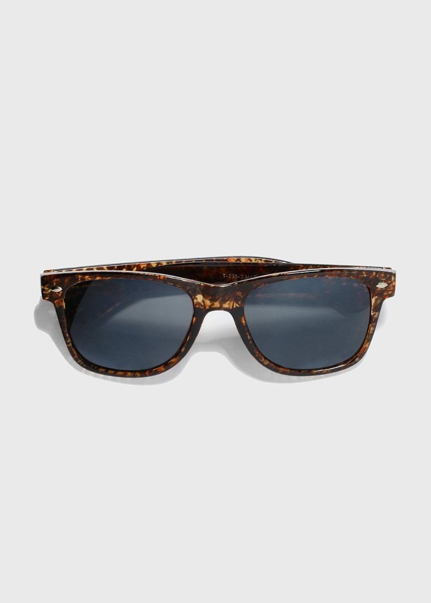 d492b5c70d798 Óculos De Sol Wayfarer Estampa De Tartaruga Unissex - R  19,00 em ...
