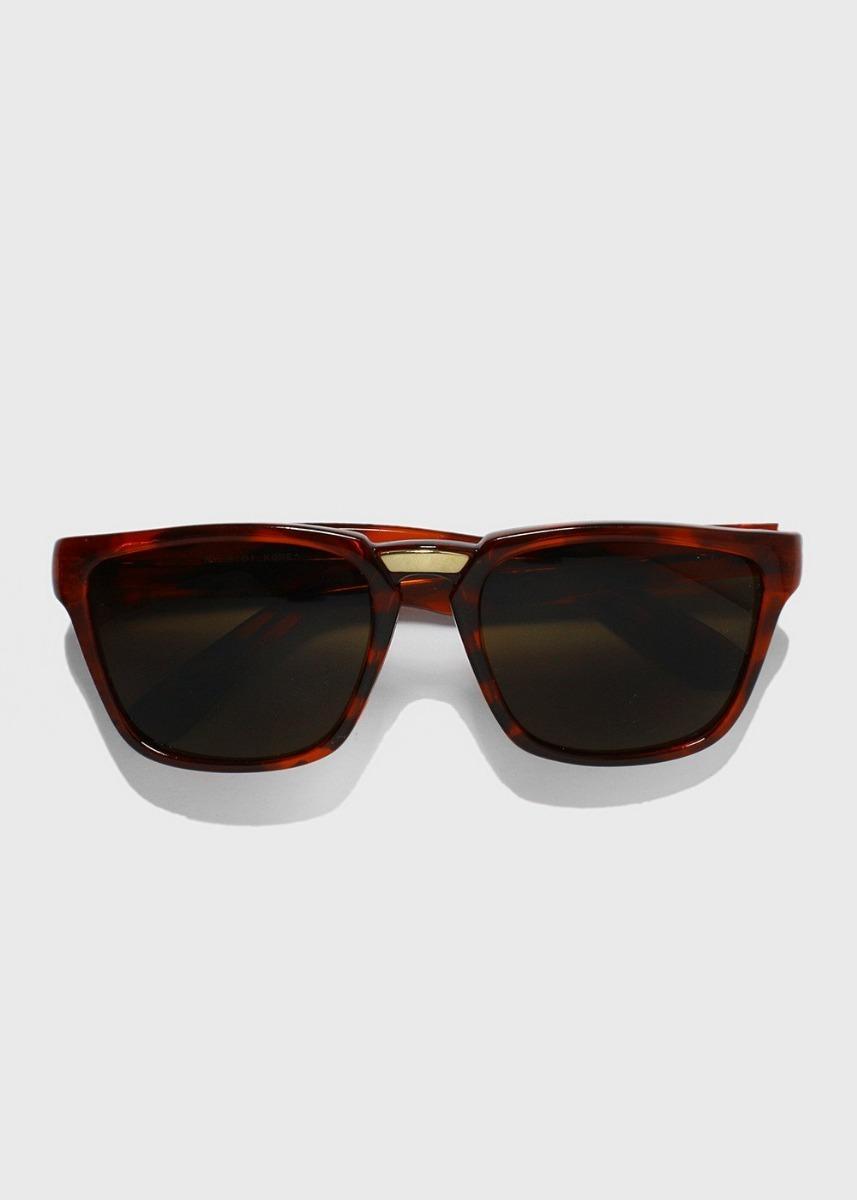 470801b863776 Óculos De Sol Wayfarer Marrom E Preto Unissex - R  19,00 em Mercado ...