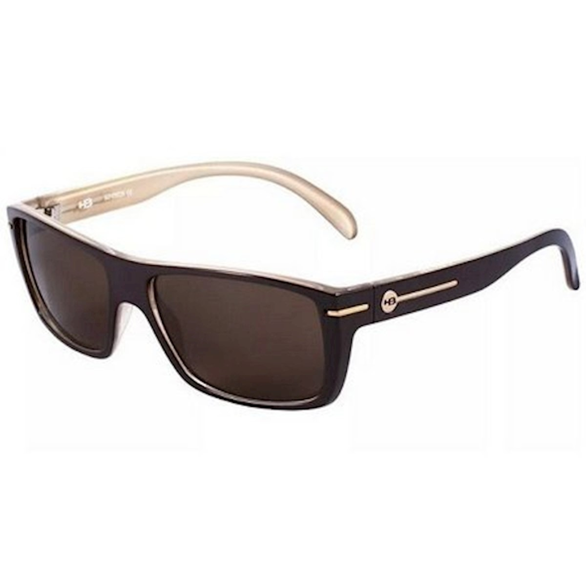 490f6bf2a Óculos De Sol Would Matte Black Brown Lenses Hb - Original - R$ 330 ...