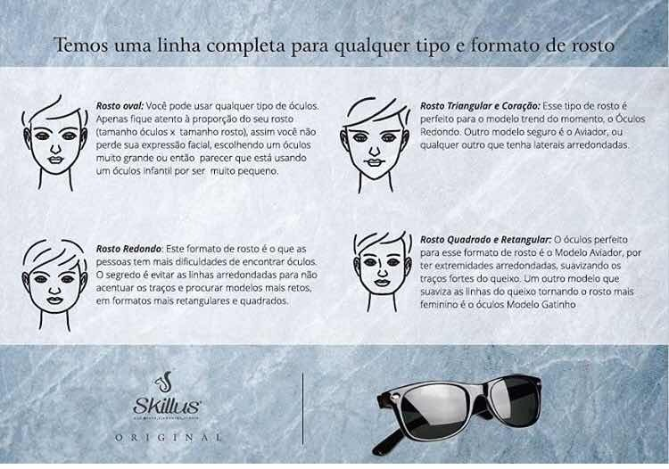 Óculos De Sol Www.skillus.vc luizajoias.loja - R  280,00 em Mercado ... aa51a35629