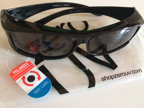 óculos de sol zero uv proteção overfit, lentes polarizadas.