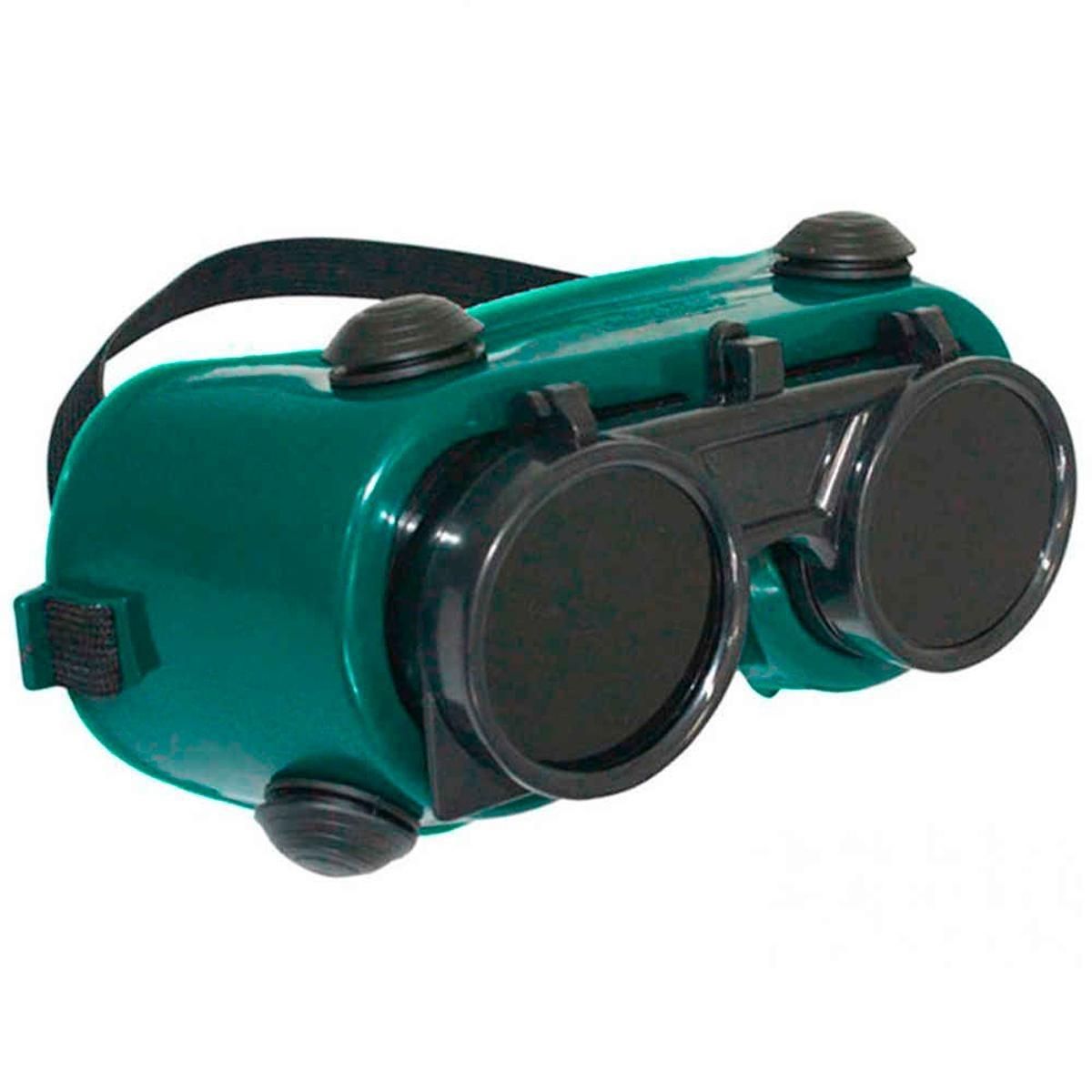 b87dd1fc267e3 óculos de solda cg250 carbografite redondo, visor articulado. Carregando  zoom.