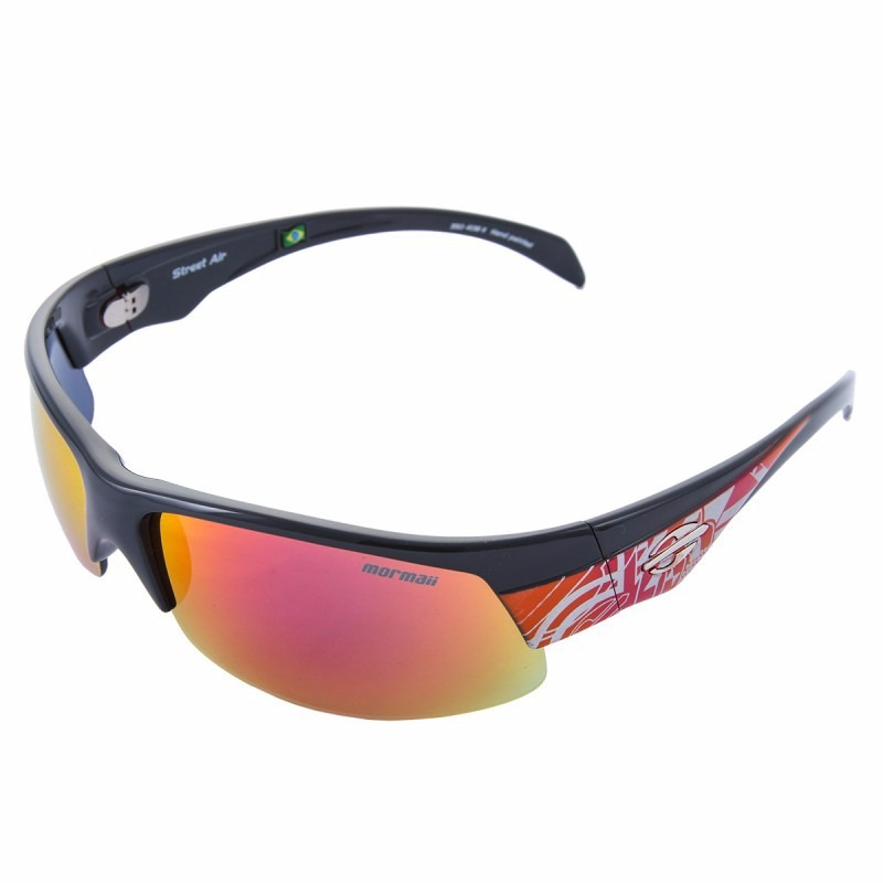 óculos de sol mormaii street air - cinza escuro laranja. Carregando zoom. 234d2cf983