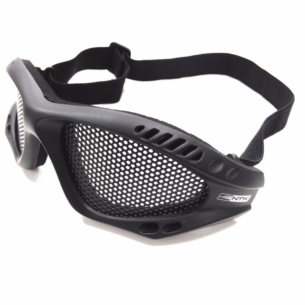 a8148583e9785 Óculos De Tela Para Proteção Airsoft Kobra - Preto - Nautika - R  58 ...