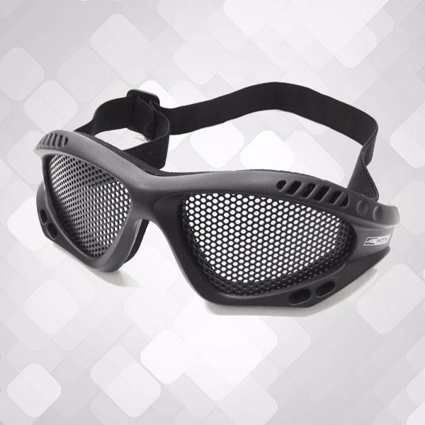 fbc6b83ec944c Óculos De Tela Para Proteção Airsoft Kobra - Preto - Nautika - R  58,90 em  Mercado Livre
