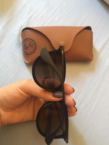 Óculos De Veludo Rayban - R  239,49 em Mercado Livre 751478ee65