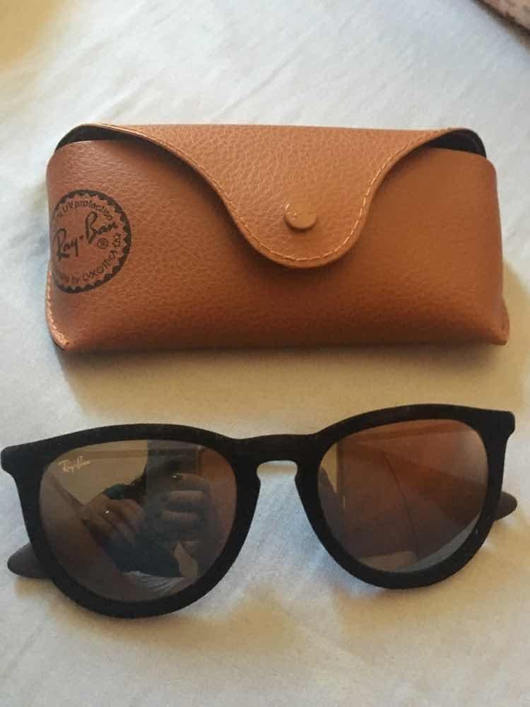 Óculos De Veludo Rayban - R  350,00 em Mercado Livre 8092c367d8