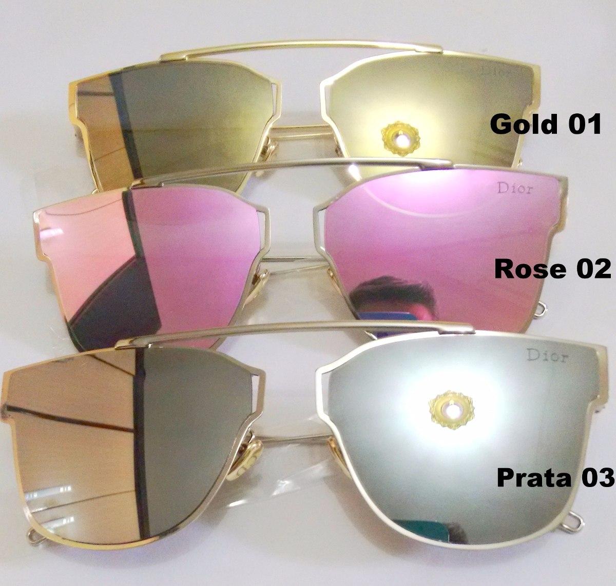 1c4341586afd3 óculos dior 0204s rosa dourado ou prata lançamento 2016. Carregando zoom.