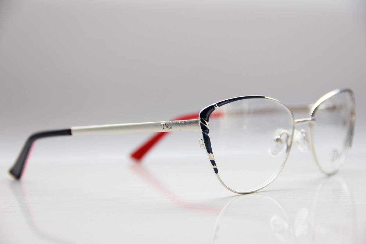881fbaeb1a2 Armação Para Óculos De Grau Feminina Dior Promoção - R  119