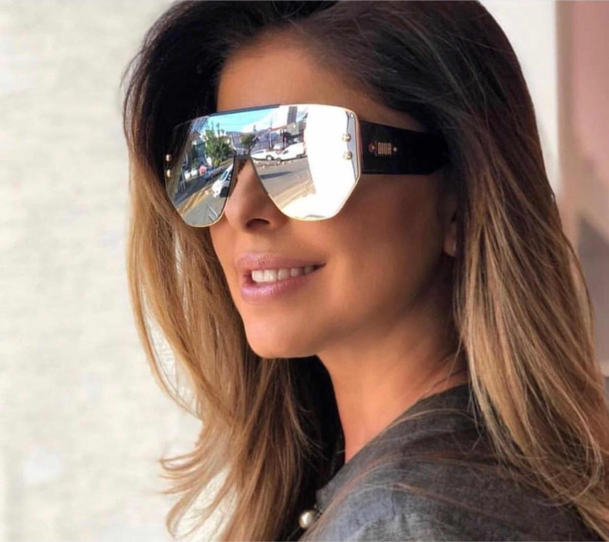 ... Óculos Dior Espelhado Prata Addict 1 Original - R 1.978,20 em ... Óculos  de Sol Ray Ban ... f64bf246c5