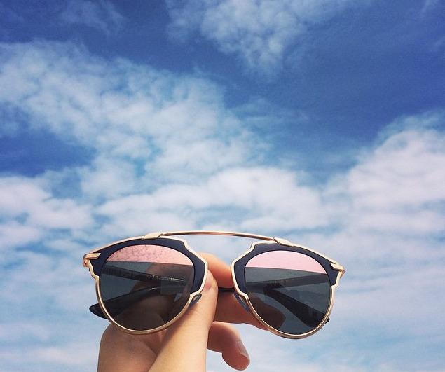 477a0c55ec253 Óculos Dior So Real - Bleu Marine E Ouro Rosa - Importado - R  659 ...