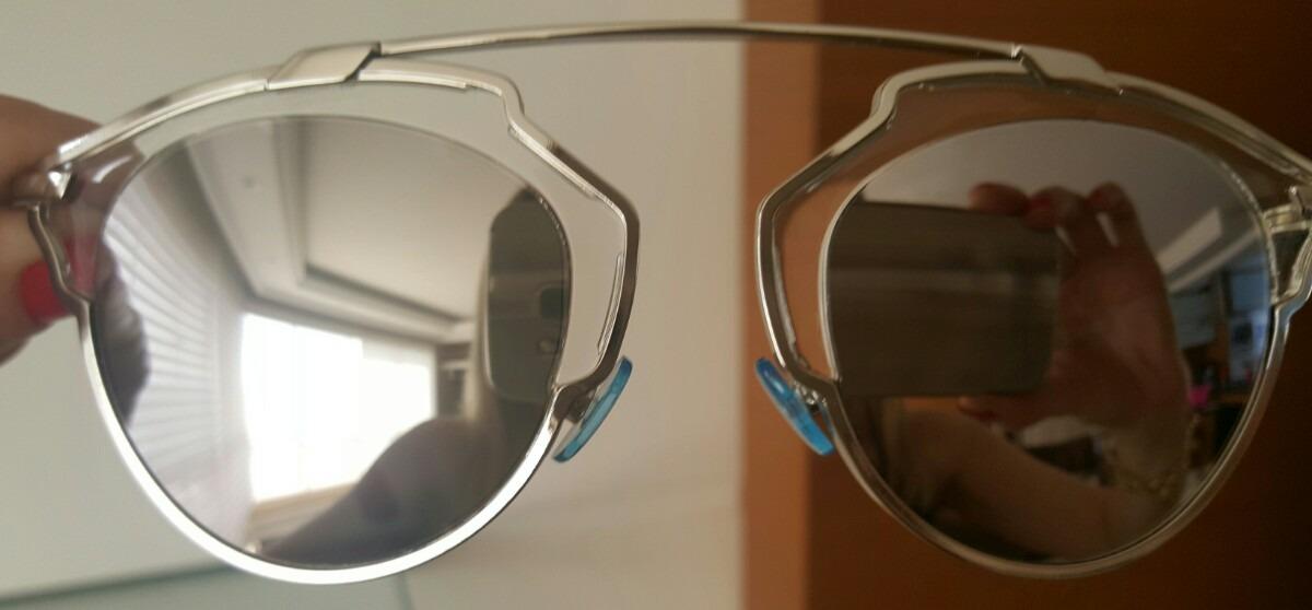 Oculos Dior So Real Original Cor Prata - R  1.480,90 em Mercado Livre 9e54da49d9