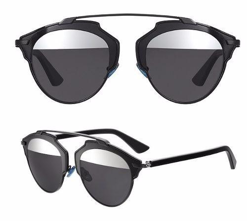 90135d9eaf1 Óculos Dior So Real Preto 100% Original Luxo - R  539