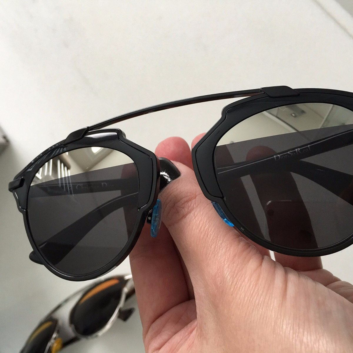 71ffa85938f óculos dior so real preto 100% original luxo. Carregando zoom.