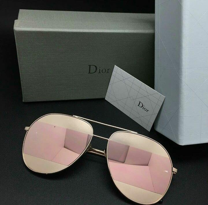 eedc892f19b53 Óculos Dior Split Espelhado Lançamento Pronta Entrega - R  559,90 em ...