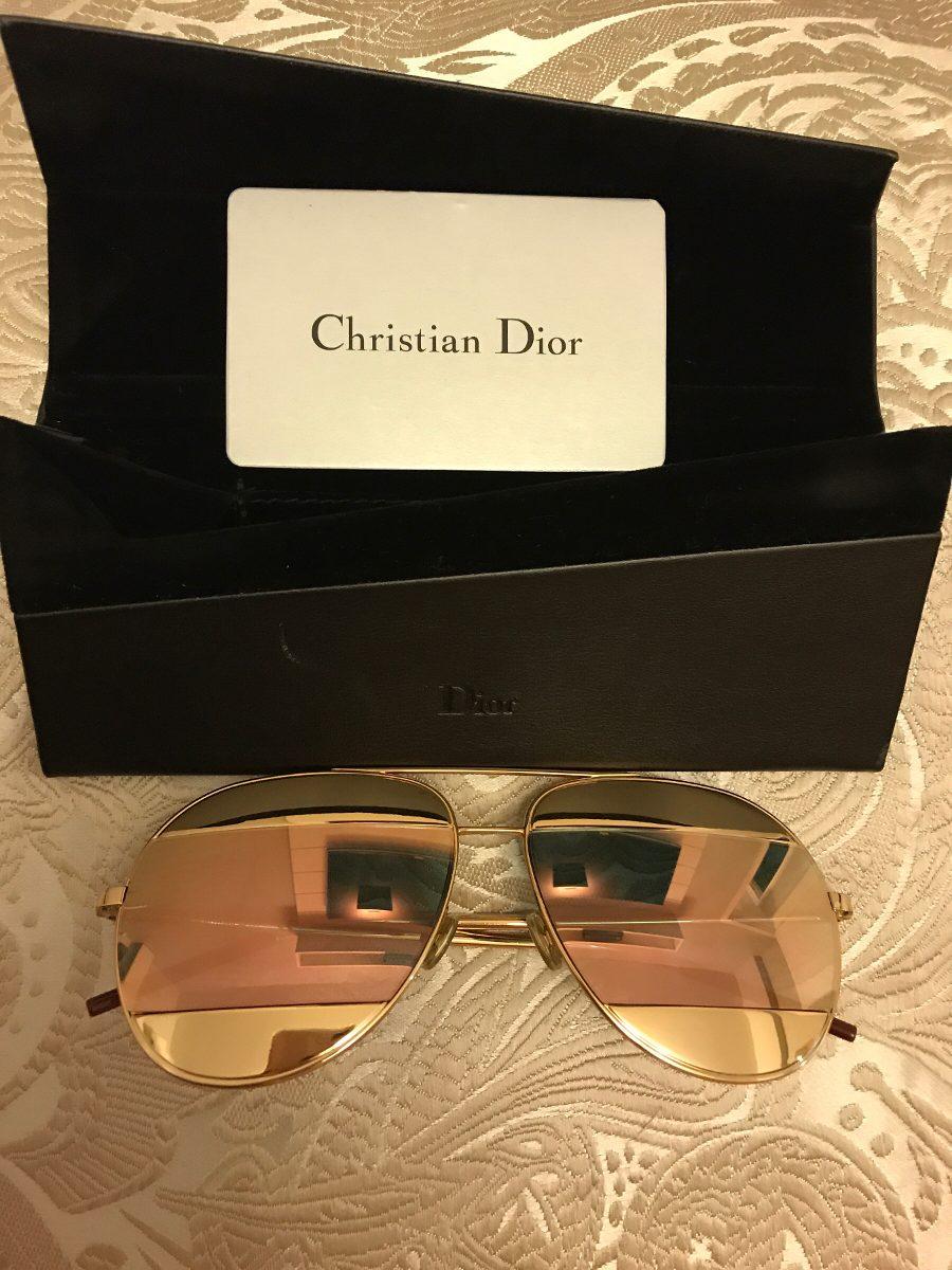 c41beaeffe763 Óculos Dior Split Rosa E Dourado - R  990,00 em Mercado Livre