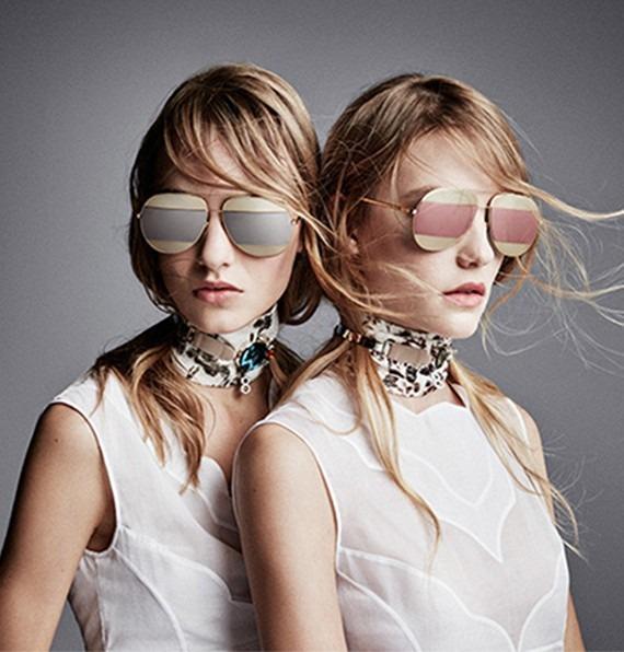 63cf94bc099 Óculos Dior Split Várias Cores Luxo 100% Original Lançamento - R ...