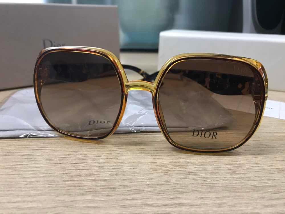 a352a583f781f Óculos Dior Studs 3 Caramelo Transparente Jadior - R  550,00 em ...