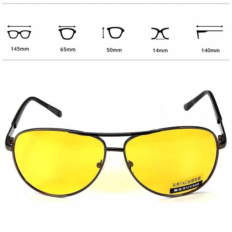 af656b78dfdf1 óculos dirigir a noite amarelo modelo aviador polarizado. Carregando zoom.