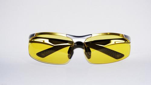 óculos dirigir a noite polarizado armação alumínio prata