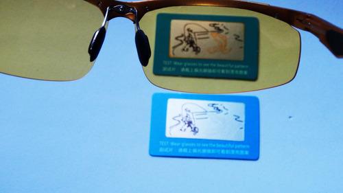 óculos dirigir a noite polarizado uv400 alumínio dourado