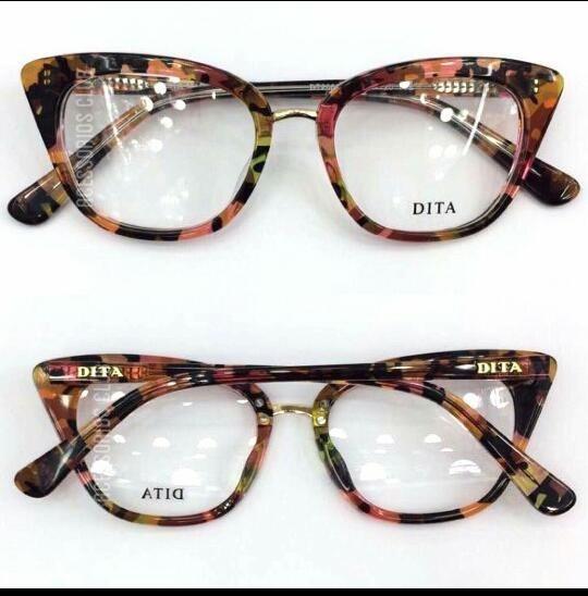 2e075d038c21f Óculos Dita Armação De Grau Modelos Gatinho Acetato -dt100 - R  135 ...