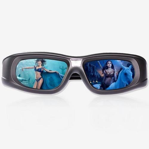 óculos dlp link 3d ativos compatíveis com projetores xgimi/j