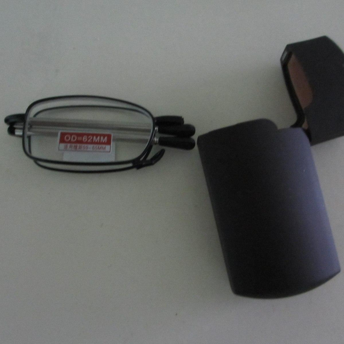 Óculos Dobravél Tipo Telescopico Para Leitura 1,5 - R  111,00 em ... 0726a53c17