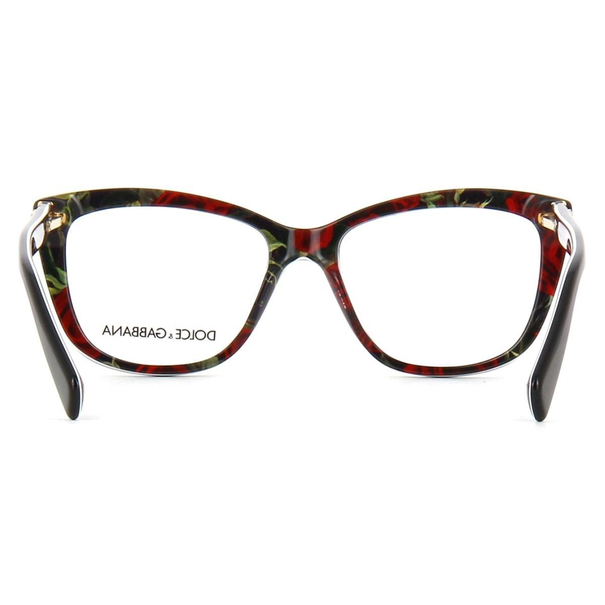a53407903d822 Óculos De Grau Dolce   Gabbana Dg3190 2940 - R  808
