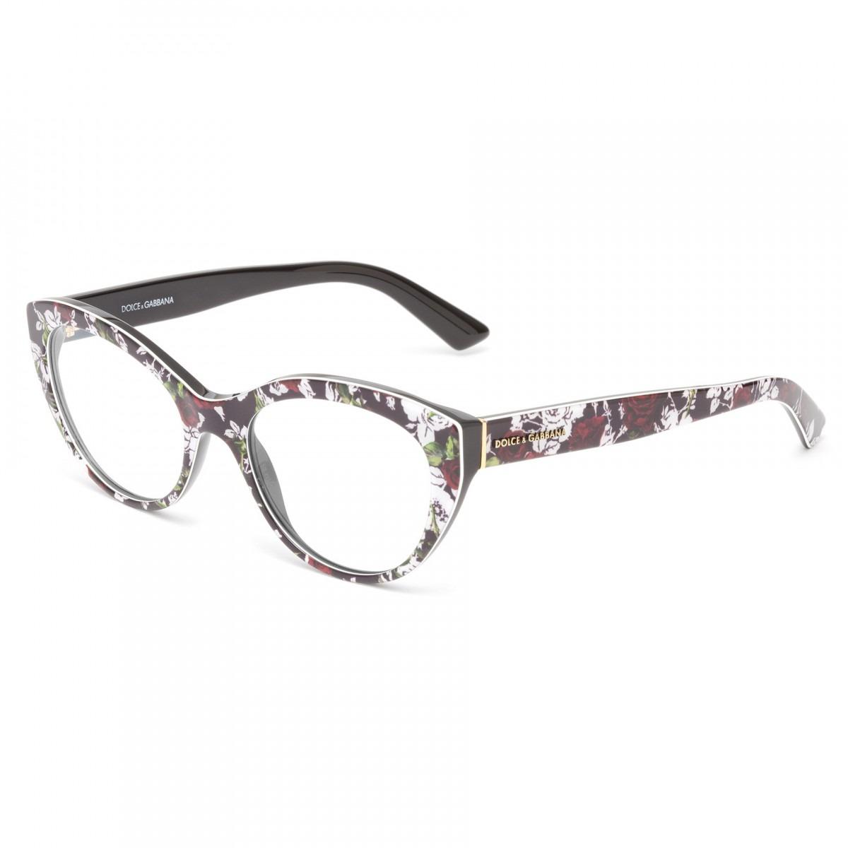35e3fefb736ed Óculos De Grau Dolce   Gabbana Dg3246 3019 - R  728