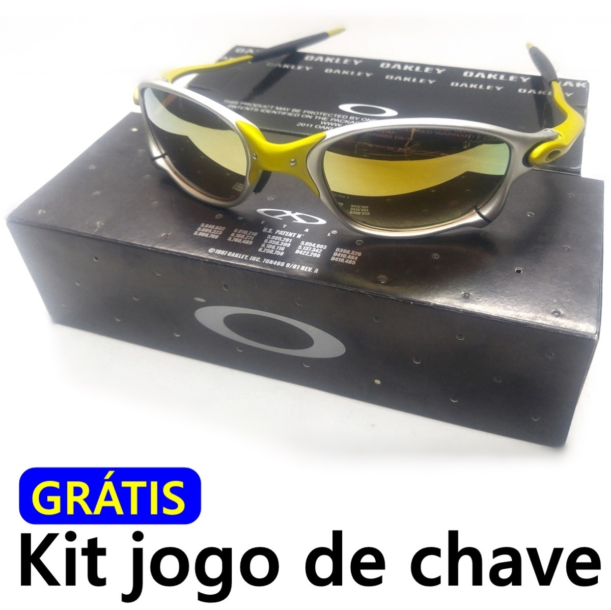 óculos double x 24k dourada 100% idêntica a original ,barato. Carregando  zoom. ffb40468a6