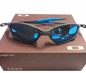1b9e99c12 Oakley Juliet Ice Lente Azul ( Ice ) Original - Óculos no Mercado Livre  Brasil