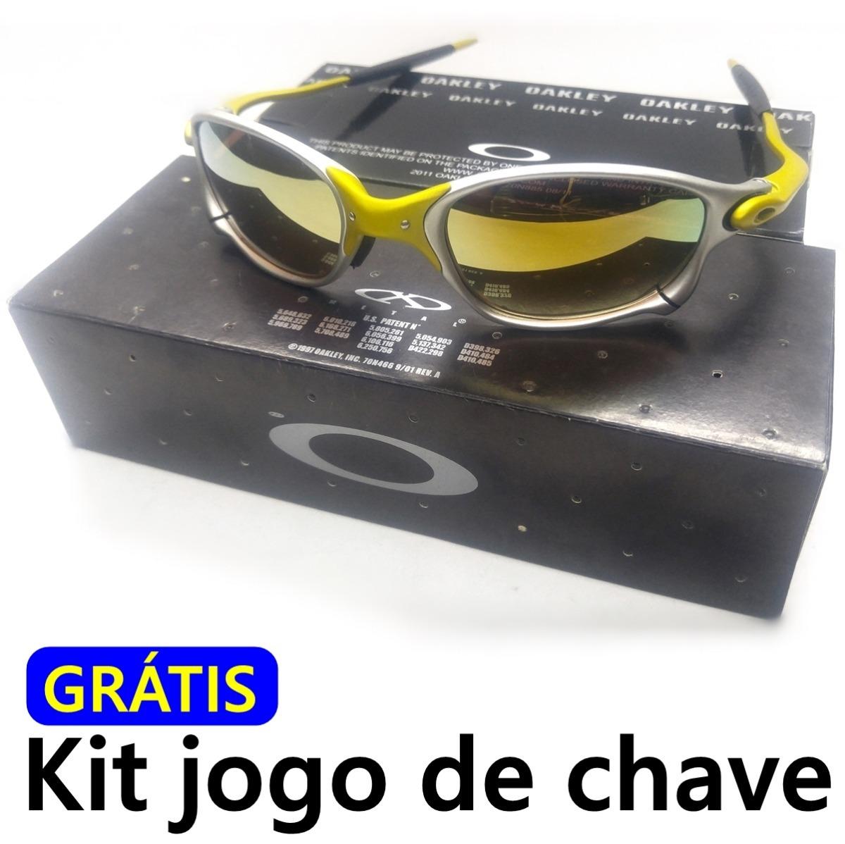 598fc65a04322 Oculos Double Xx 24k Dourado ( Idêntica Original ) + Brinde - R  120 ...