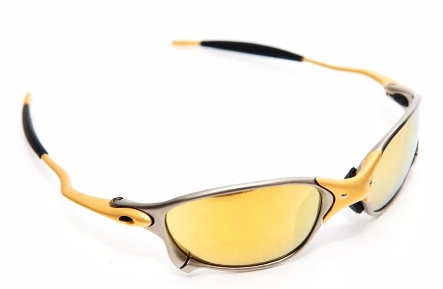 a6737eb4f7ee6 Oculos Double Xx 24k Gold Oakley 100 % Original Barato Ofert - R ...