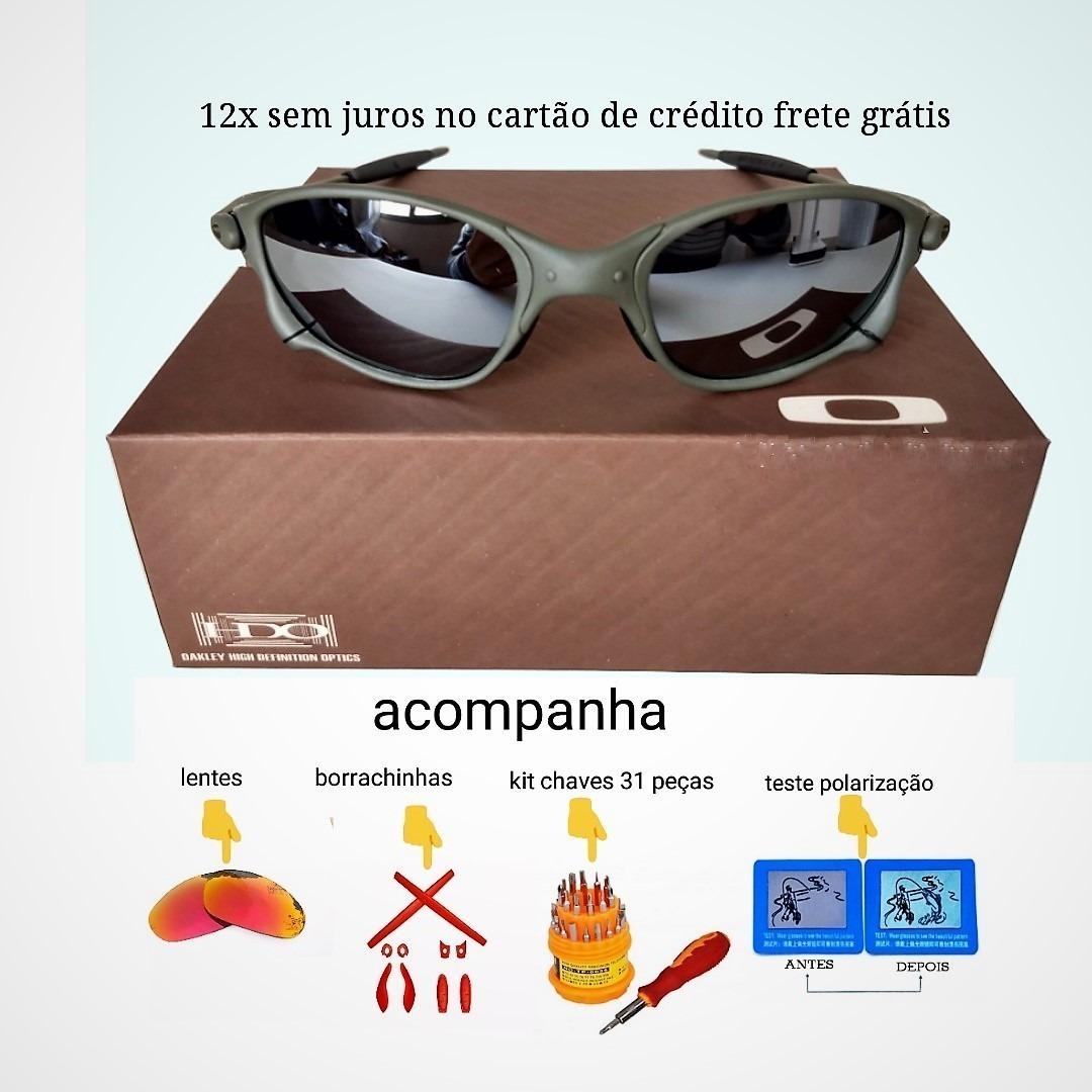 bfb1f7e438594 Oculos Double Xx Espelhada +lente+borracha+chave+teste 12x - R  129 ...