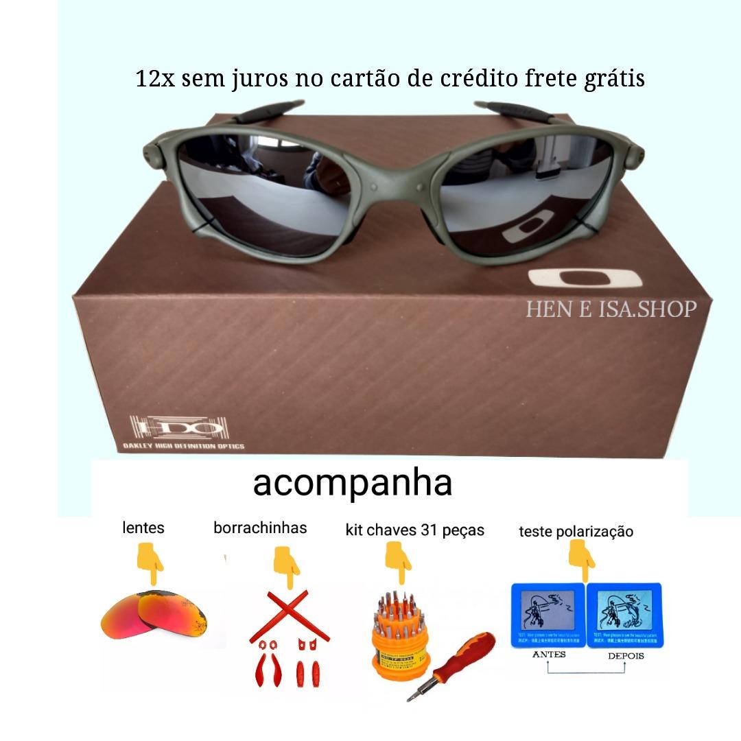c71aebb846dfa Oculos Double Xx Espelhada +lente+borracha+chave+teste 12x - R  125 ...