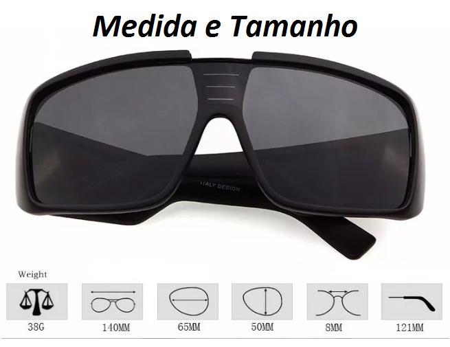 d2f38401fff59 Óculos Dragon Domo Masculino Com Proteção Uv 100% - R  84