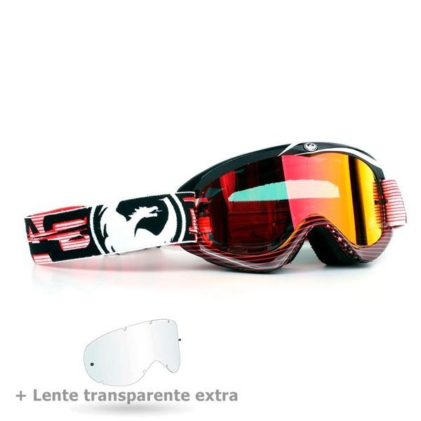 0c60419f5bd26 Óculos Dragon Mdx Nerve Vermelho + Lente Cristal - R  252,00 em ...