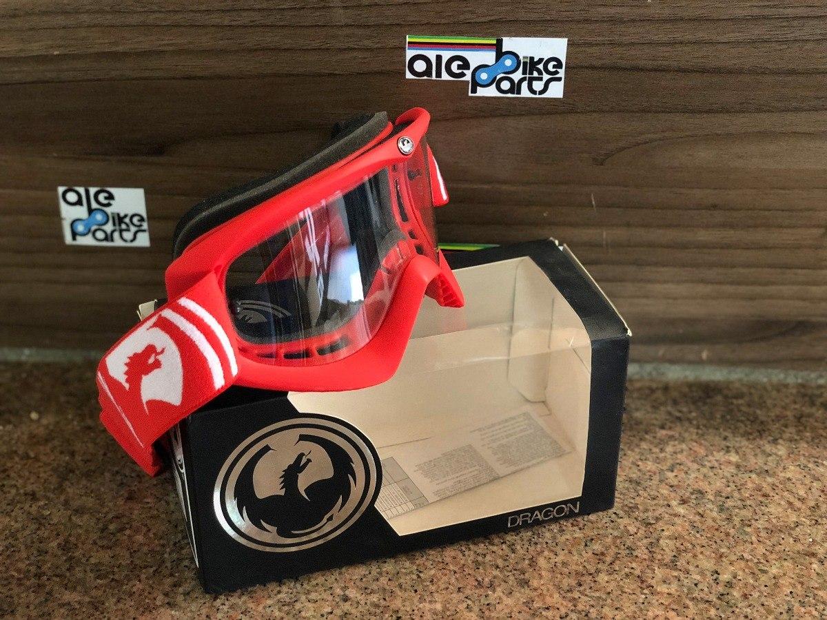 2190f9deffd99 Óculos Dragon Mdx Vermelho Bike Downhill Freeride. - R  156,00 em ...