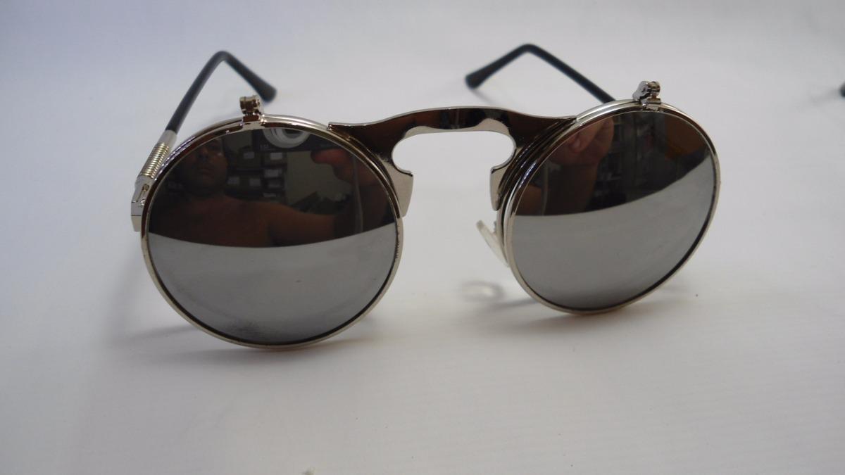 28e7d0c2ba38c oculos duas lentes descanso e sol redondo estilo woodstock. Carregando zoom.