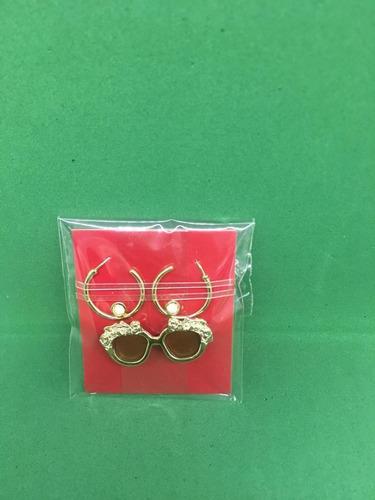 óculos e brincos dourado integrity toys fashion royalty