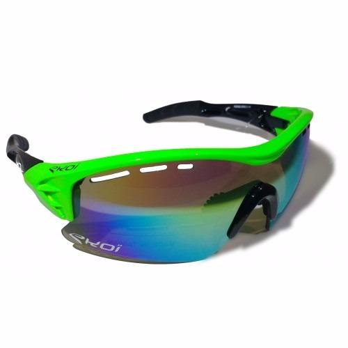 Oculos Ekoi Perso Evo Ciclismo Impot (pto vrde espelhdo) - R  349,00 ... 54743ce211