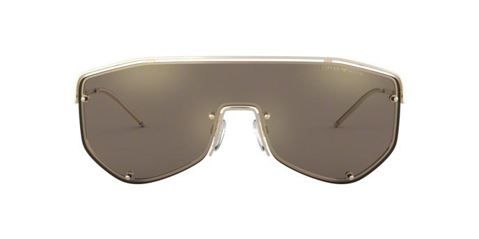 Óculos Emporio Armani Ea2072 30135a Ouro Lente Espelhada Ou - R  456 ... c88871b8e1